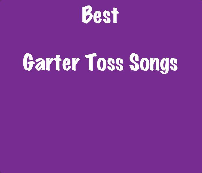 Wedding Garter Songs: Too Cute SongListsDB