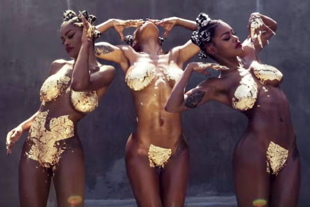 "Music Wednesday: Teyana Taylor Serves GOLD BAWDY in ""Champions"" Freestyle"