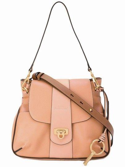 362b3aa2e6 Chloé Lexa Small Pink Blushy Leather Shoulder Bag - Tradesy | Handbags