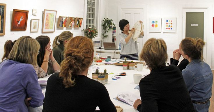 Modern Embroidery Workshop with Jacqueline Chan, Whimsy Milieu, The Corner Store Gallery, Orange NSW
