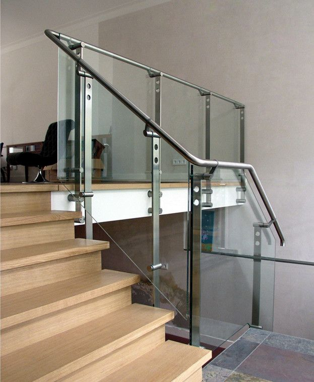 25 Best Ideas About Glass Stair Railing On Pinterest: 17 Best Ideas About Glass Stair Railing On Pinterest