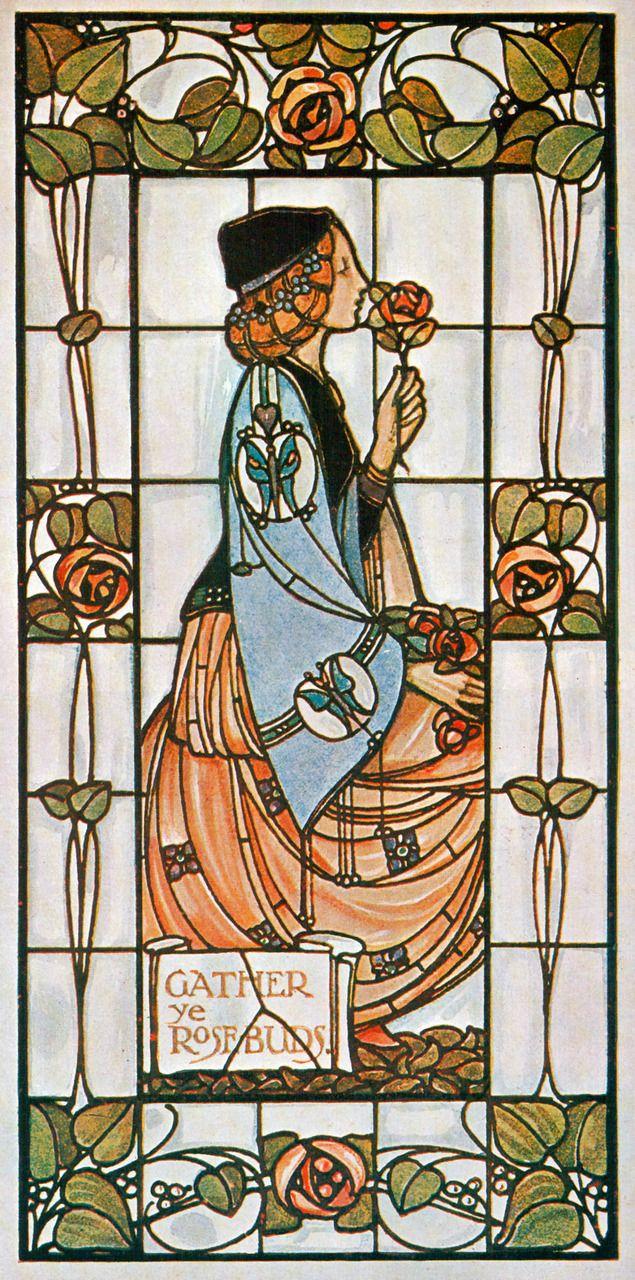 stained-glass window by Alex Gascoyne, 1906