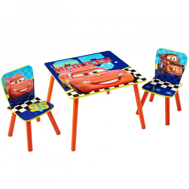 Worlds Apart - Cars Table and 2 Chairs