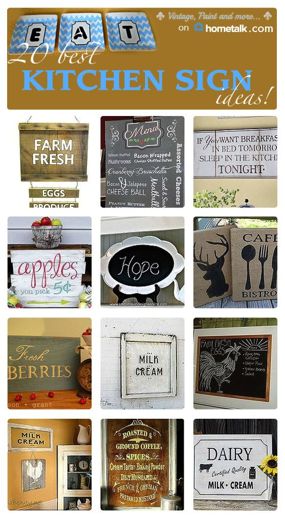 Vintage, Paint and more... Hometalk graphic for kitchen sign board.  Image and video hosting by TinyPic