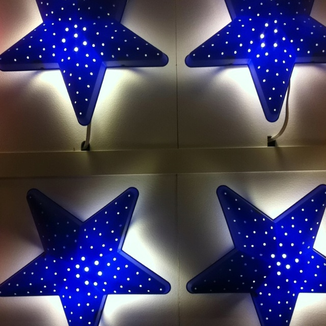 Wall lamps for Wonder Woman Party - IKEA