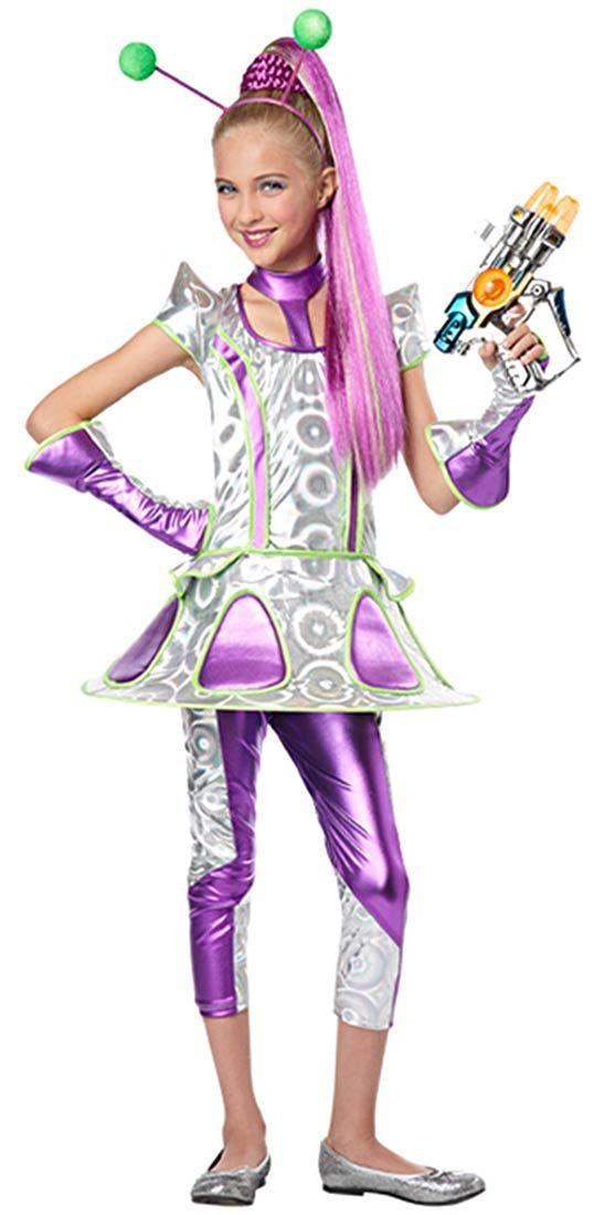 alien halloween costume girl