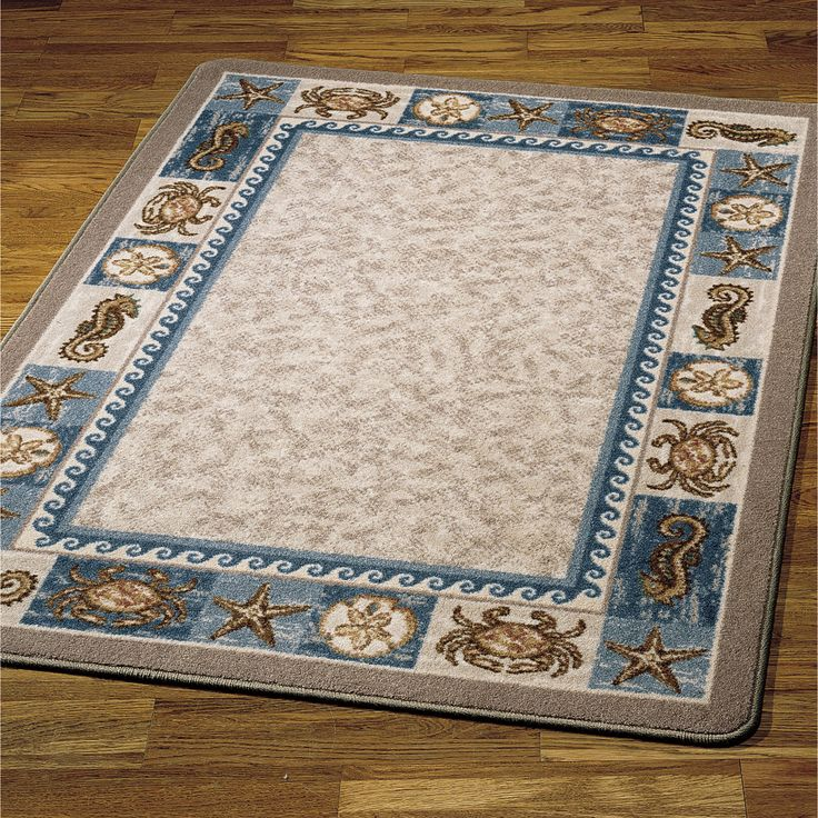 Superior Area Rug Beach Theme Images