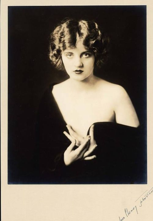 Stunning Portrait Of Tallulah Bankhead By Alfred Cheney Johnston - 1920's