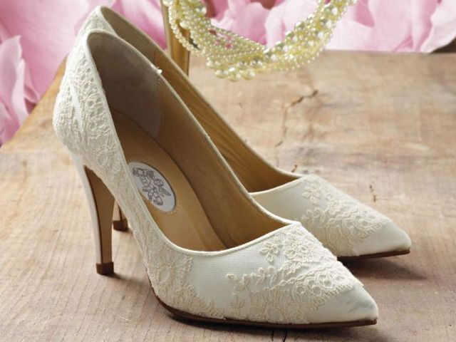 Georgie Girl By Diane Hassall Vintage Designer Wedding Or Occasion Shoes