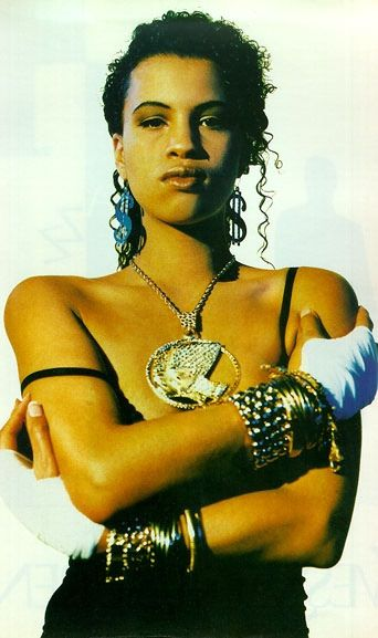 Neneh Cherry. Her song 'Buffalo Stance' was my jam