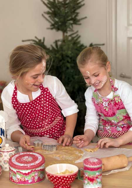 Traditions & Memories! My sister and I had fun baking cookies together and then my two daughters continued the tradition.