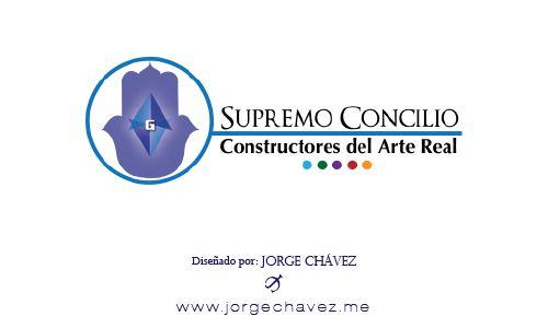 Logotipo diseñado para el Supremo Concilio Constructores del Arte Real