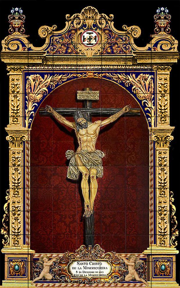 Cristo De La Misericordia Huelva Modelos Santísimo Cristo Ornamentacion