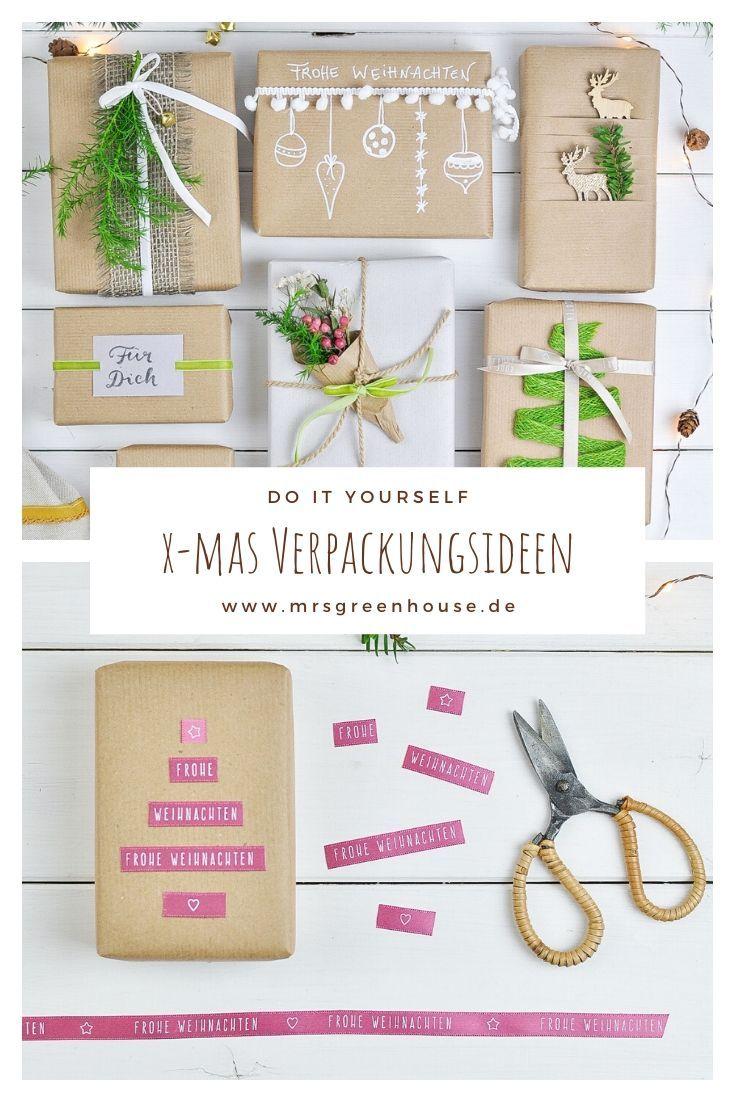 sch ne verpackungsideen f r weihnachtsgeschenke geschenke verpacken weihnachten geschenke