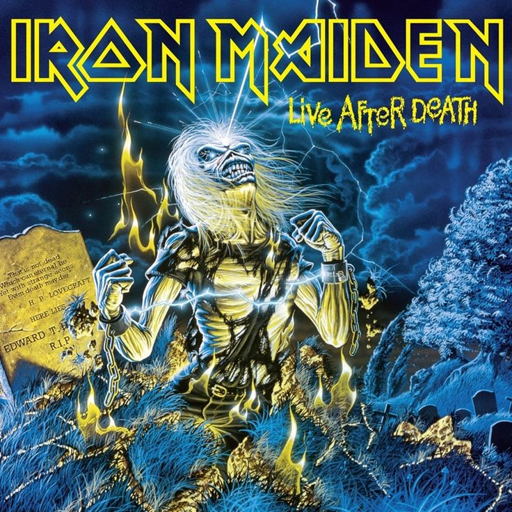 Iron Maiden Live After Death on 180g 2LP Iron Maiden will follow-up the 2012/13 vinyl picture disc reissues of their groundbreaking first eight records, which spanned the 1980s, with brand new pressin