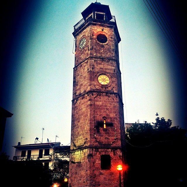 #naoussa #naousa #old #clock