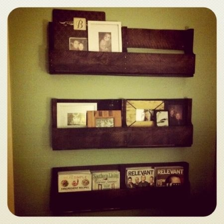 shelves made out of pallets cute this is a craigslist. Black Bedroom Furniture Sets. Home Design Ideas