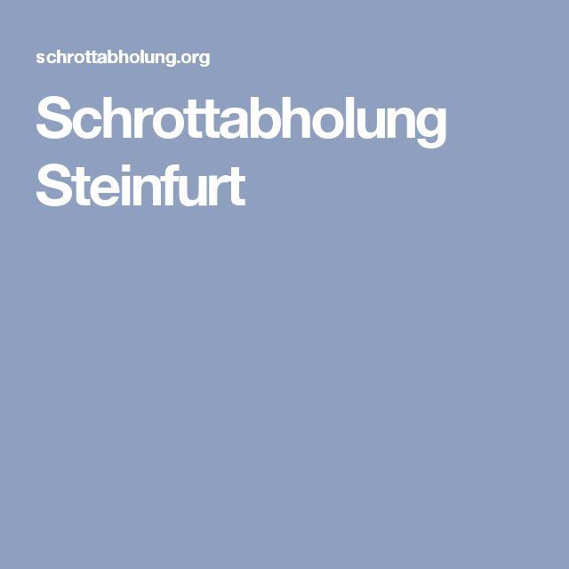 Schrottabholung Steinfurt