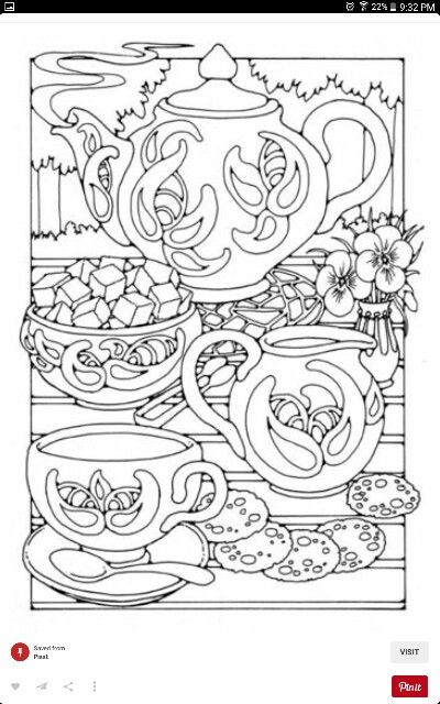 42 best Coloring Pages for Adults images on Pinterest | Coloring ...