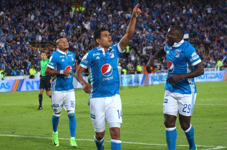 La victoria de Millonarios frente al Huila desde el lente de Azul Total