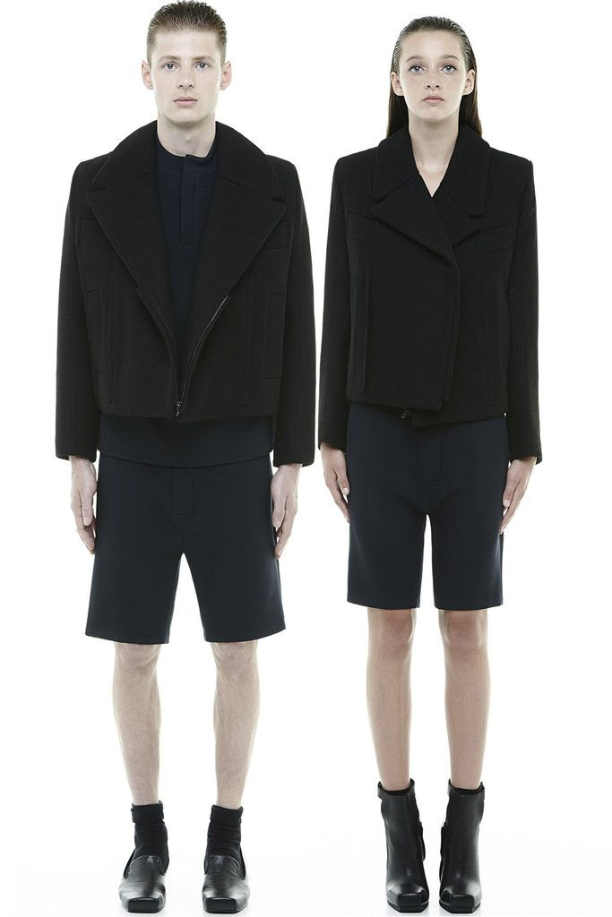 PA190BC : UNISEX LOOSE SHORTS : http://www.radhourani.com/collections/bottoms/products/pa190bc-unisex-loose-shorts#.VJxl2ECAg