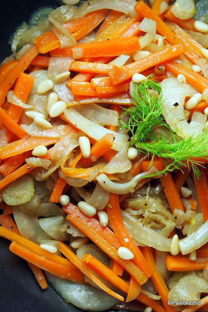 Talvinen porkkana-fenkolilisuke | paleokeittio.fi