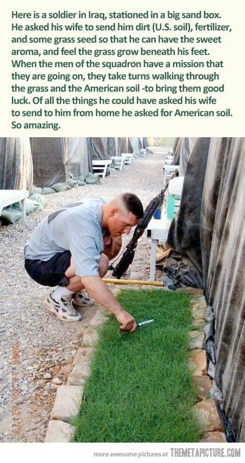 American soil…