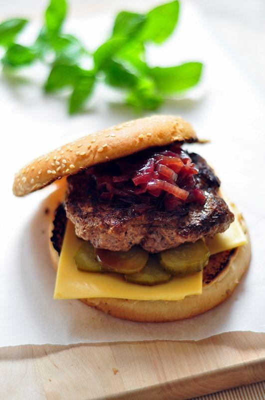 Hamburgery z wołowiny