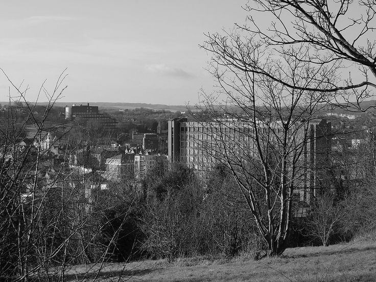 Chatham town centre from the Great Lines [shared]