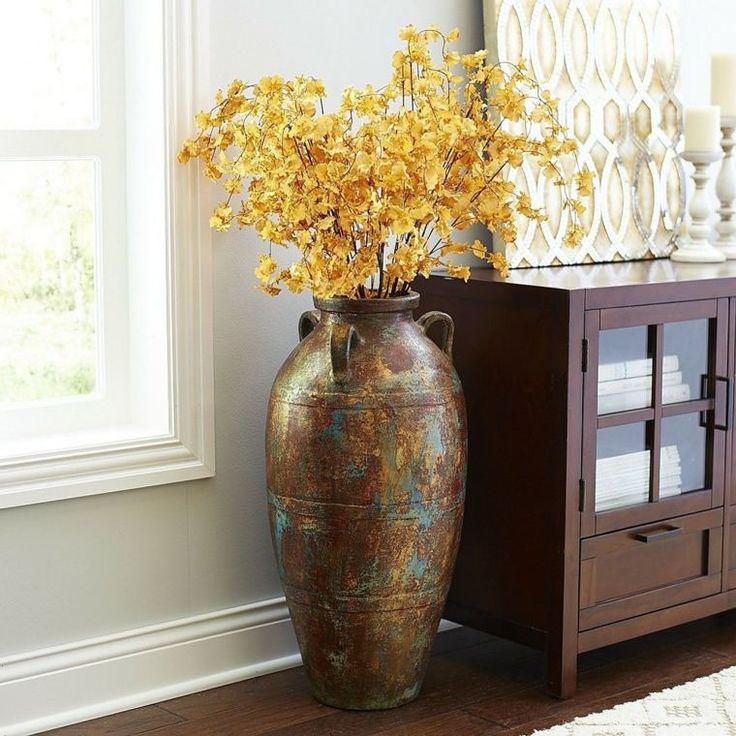 le grand vase design 31 id es pour un look moderne deco fenetre pinterest grands vases. Black Bedroom Furniture Sets. Home Design Ideas