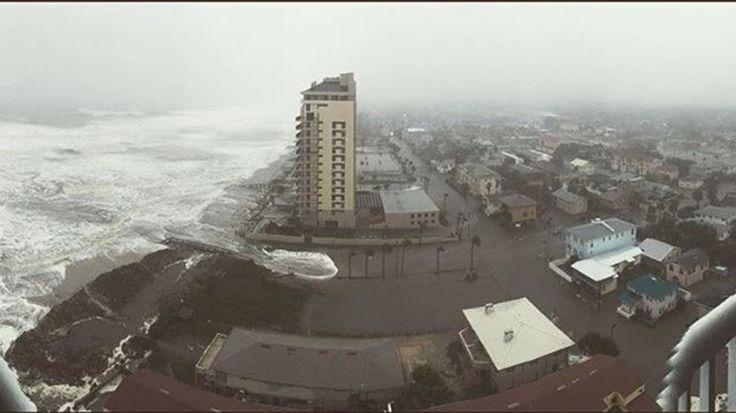 Hurricane Matthew slammed the Caribbean and has since battered the U.S. Here are the latest photos.