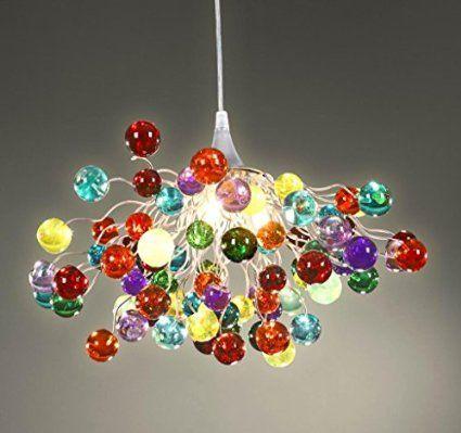 chandelier toutes les couleurs luminaire boules lustre plafonnier lampe art deco