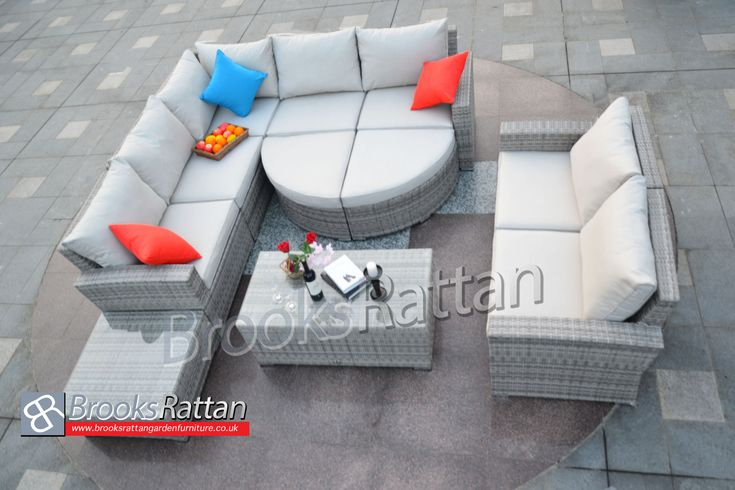 Hottest Christmas Deal !! Hurry UP !! 10 Years Guarantee Buy Champagne Tobago Corner Sofa Set + Free Delivery Discount Price: £2,590 Visit: http://www.brooksrattangardenfurniture.co.uk/rattan-garden-corner-sofa-set/champagne-tobago-corner-sofa-set-in-mixed-grey-rattan.html #Furniture #Outdoorfurniture #Christmassale #Christmas #Sale #Essex #UK