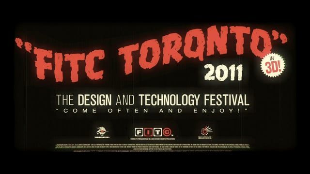 FITC, the Design & Technology events company celebrated their 10th annual flagship event in Toronto this year and MK12 produced a short title film for…