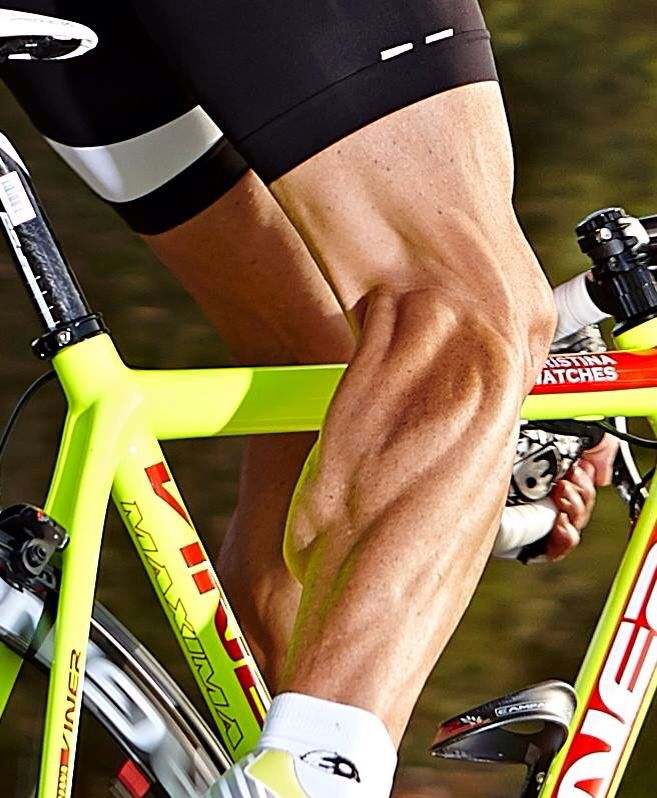 From Pro Cycling - The crazy legs of our ex-pro bike tester Marcel Wüst!