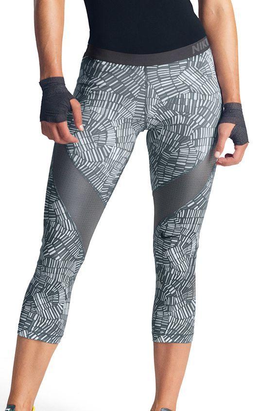 Nike Pro Hypercool Tidal Women's Training Capri   SHOP @ FitnessApparelExpress.com
