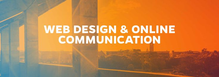 Online Master's Degree in Web Design and Online Comunication