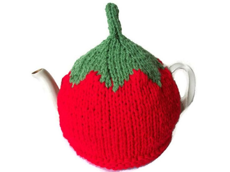 Tea Cosy Tomato Hand Knitted, £12.99