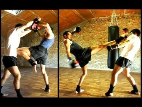 MUAY THAI - training tutorial - YouTube