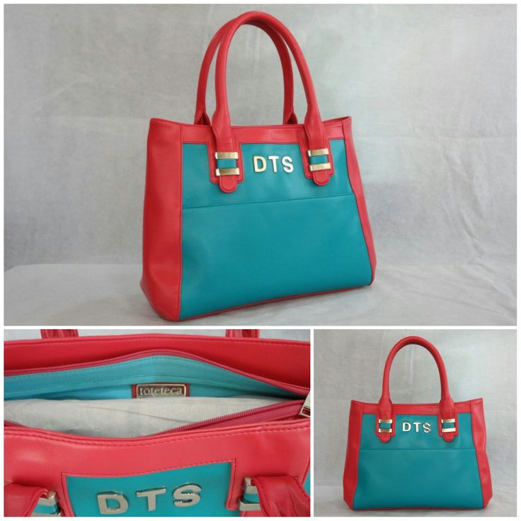 Our Medium Trendline Tote customized in Turquoise body, Pink sides & handle with Silver metalwork & Turquoise inside lining and an external body Monogram. smile emoticon See more at: http://www.toteteca.com ‪#‎colorful‬ ‪#‎customercreation‬ ‪#‎fun‬ ‪#‎bright‬ ‪#‎bag‬ ‪#‎love‬ ‪#‎monogrammed‬ ‪#‎tote‬