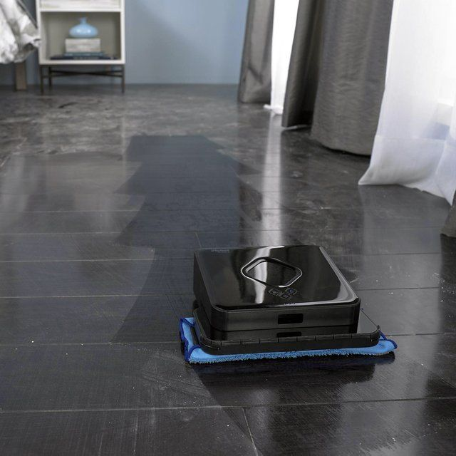 Hate Cleaning the Bathroom? These 4 Gadgets Will Do It For You: iRobot Braava 380t Floor Mopping Robot