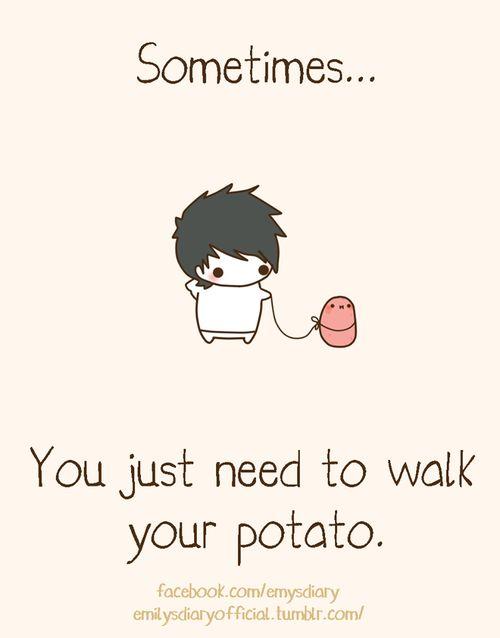 cute potato meme - Google Search