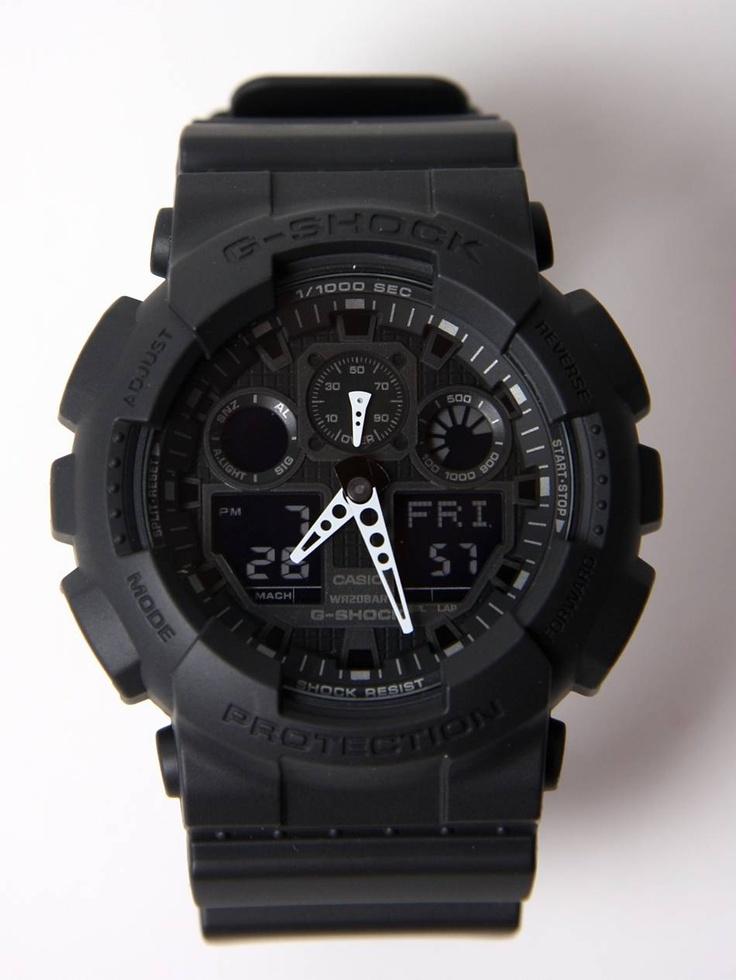 Casio G-Shock GA-100 X-Large combi watch