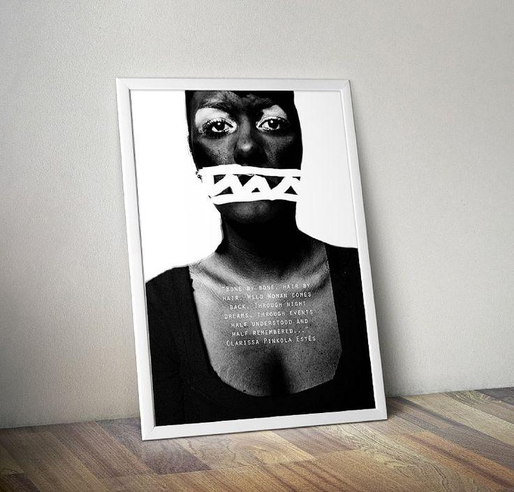 Beautiful original poster with artwork Black. #mybaze #poster