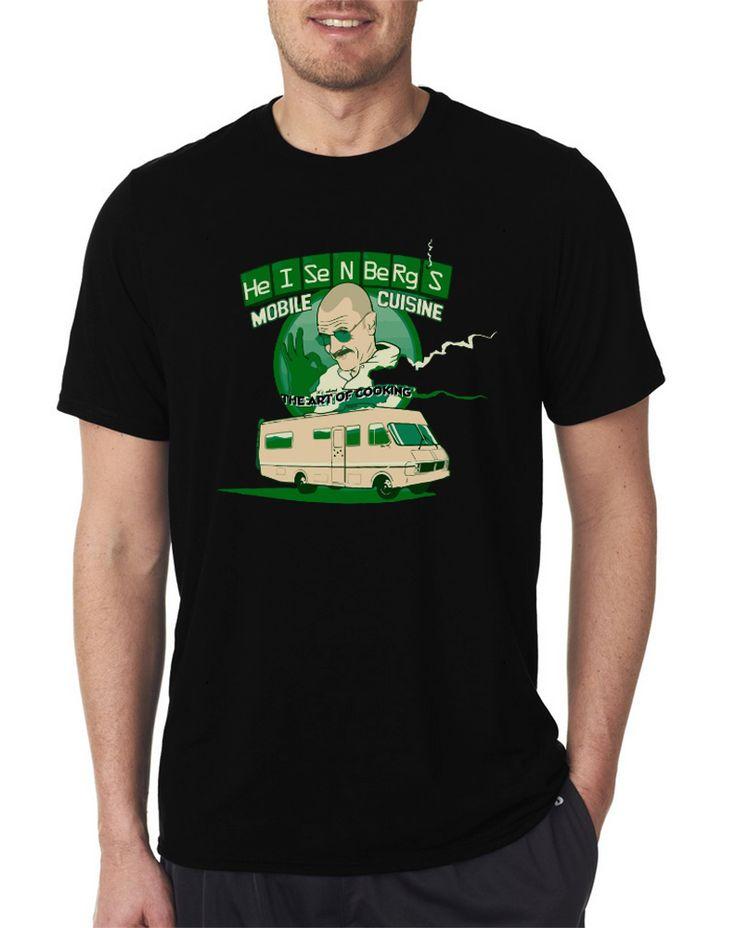 #breakingbad  #heisenberg  Cuisine Van #walterwhite  White Men's T Shirt Size S-XXL