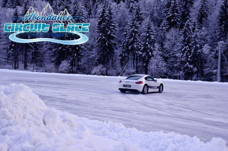 Stage de conduite sur glace-circuit glace-abondance