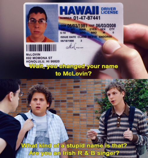 superbad- prob the nastiest movie ever but its so funny!