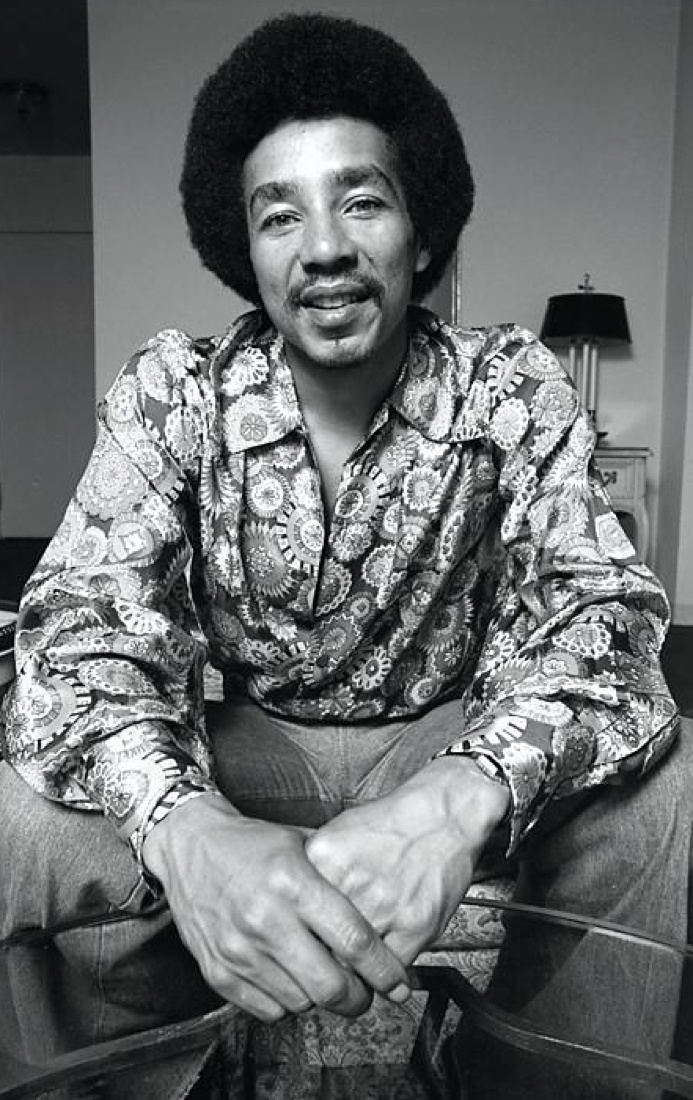 Smokey Robinson, who don't know this man?!!