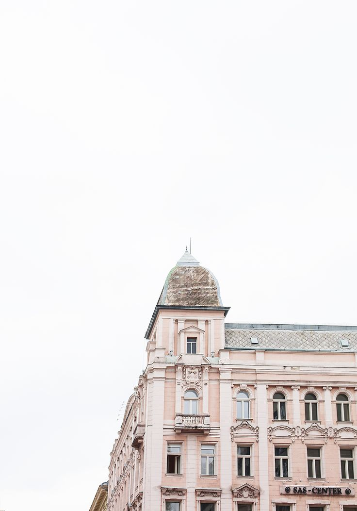 architecture budapest | the lovely drawer | pink hues