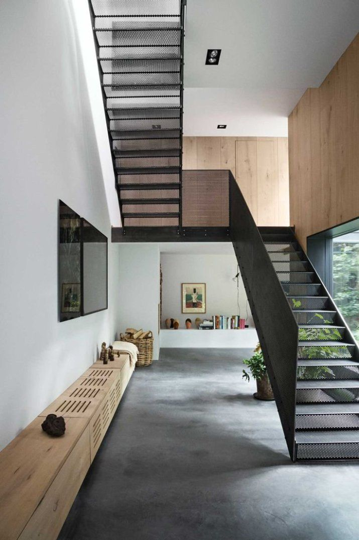 Best 25 contemporary stairs ideas on pinterest stairs - Escaleras modernas interiores ...